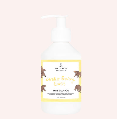 The Gift Label Baby Shampoo: Coolest Baby Ever - Sisi & Seb