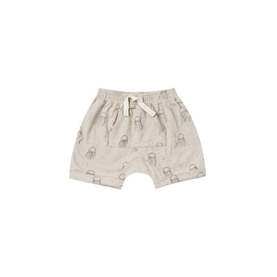Rylee & Cru Jellyfish Pouch Shorts: Cloud - Sisi & Seb