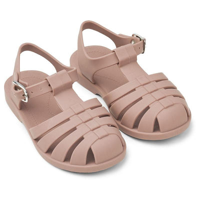 Liewood 'Bre' Sandals Dark Rose