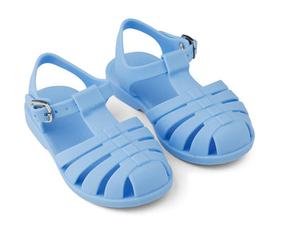 Liewood 'Bre' Sandals: Sky Blue