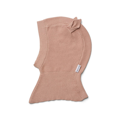 liewood rabbit rose balaclava