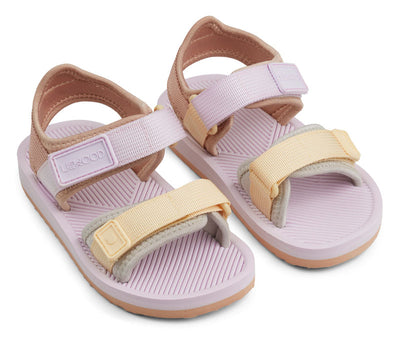 Liewood 'Monty' Sandals: Light Lavender