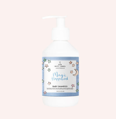 The Gift Label Baby Shampoo: Magic Happened - Sisi & Seb