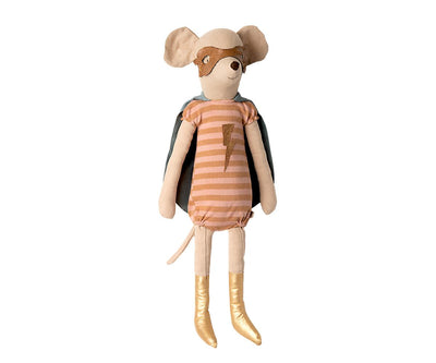 Maileg Superhero Mouse Maxi Girl