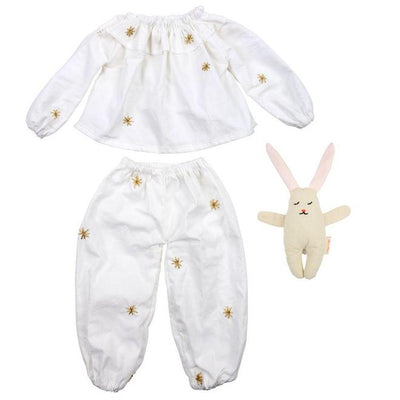 Meri Meri Pyjamas & Bunny Dolly Dress Up
