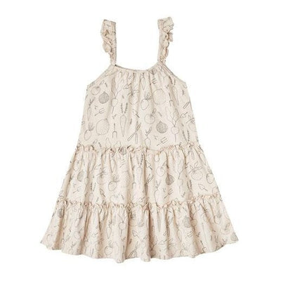 Rylee + Cru Vegetable Garden Tiered Dress | Rylee + Cru at Sisi & Seb