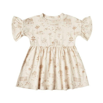 Rylee + Cru Secret Garden Babydoll Dress Natural | Rylee + Cru at Sisi & Seb