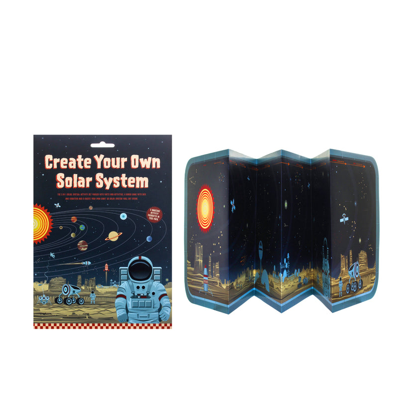 Clockwork Soldier: Create Your Own Solar System | Sisi & Seb