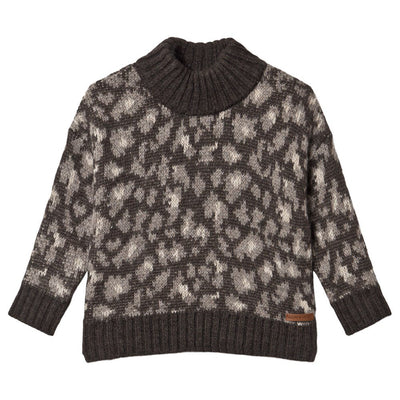 tocoto vintage animal print knitted sweater