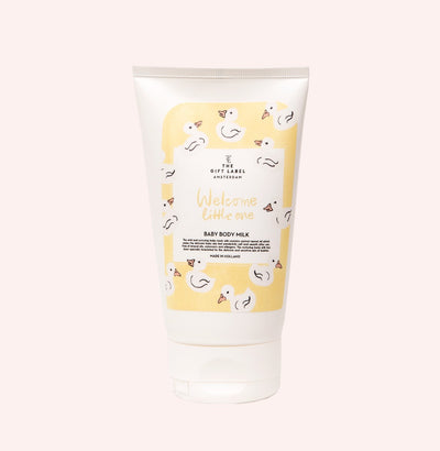 The Gift Label Baby Body Milk: Welcome Little One - Sisi & Seb