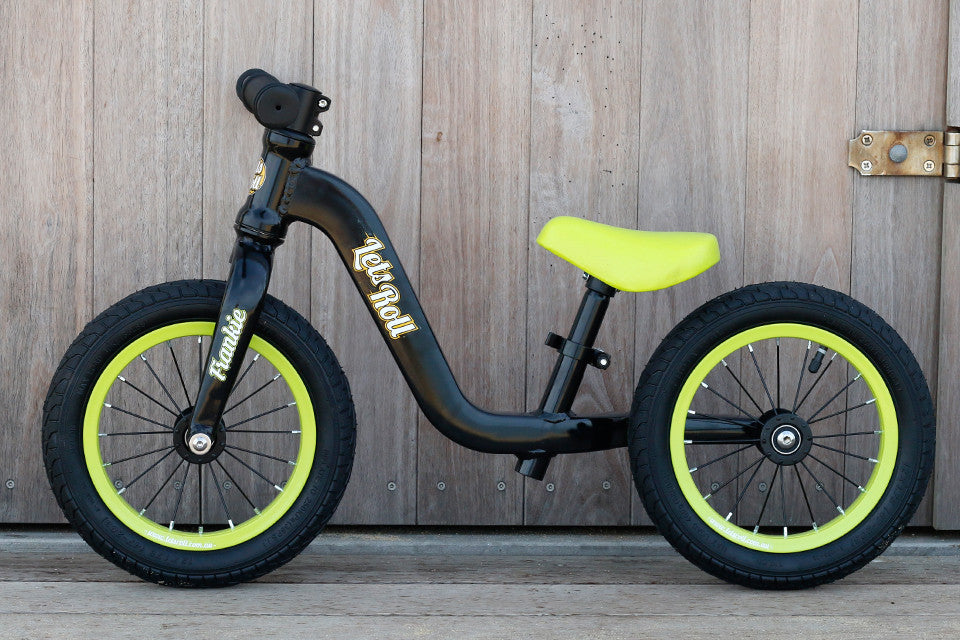 Balance Bike Frankie - Black