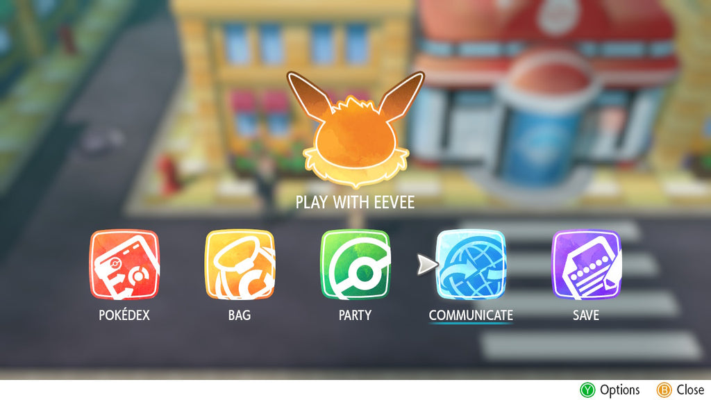 How to trade in Pokemon Let's Go Pikachu and Eevee