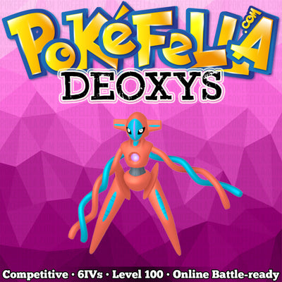 Deoxys • Competitive • 6IVs • Level 100 • Online Battle-Ready