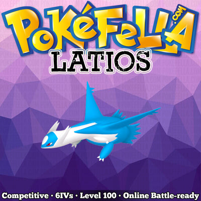 Latios • Competitive • 6IVs • Level 100 • Online Battle-Ready