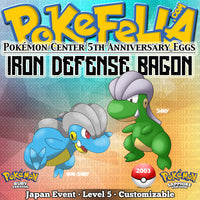 Iron Defense Bagon • Pokémon Center 5th Anniversary Eggs • Japan 2003 Event