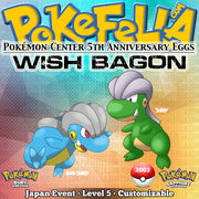 Wish Bagon • Pokémon Center 5th Anniversary Eggs • Japan 2003 Event