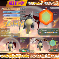 Charizard • Battle-ready • Max IVs/AVs • Level 100 • Shiny/non-shiny • Let's Go, Pikachu! & Eevee!