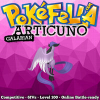 Galarian Articuno • Competitive • 6IVs • Level 100 • Online Battle-Ready
