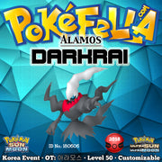 Alamos Darkrai • OT: 아라모스 • ID No. 180606 • Pokémon - Rise of Darkrai Tie-In • Korean 2018 Event