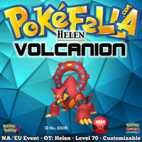Volcanion • OT: Helen • ID No. 10016 • North America, Europe, Oceania 2016 Event