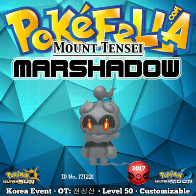 Mount Tensei Marshadow • OT: 천청산 • ID No. 171221 • Korean 2017 Event