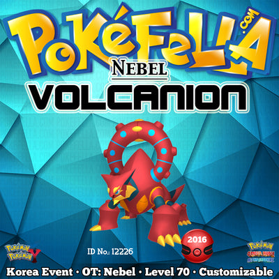 Nebel Volcanion • OT: 네벨 • ID No. 12226 • Korea 2016 Event