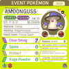 Baik Jongyoon's Amoonguss • OT: 백종윤 • ID No. 200809 • Korean Pokémon Trainer's Cup 2020 Event