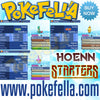 Hoenn starters treecko torchic mudkip shiny hidden ability egg moves new nintendo 3ds 2ds XL pokemon ultra sun moon x y alpha sapphire omega ruby
