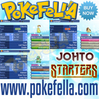 Johto starters chikorita cyndaquil totodile shiny hidden ability egg moves new nintendo 3ds 2ds XL pokemon ultra sun moon x y alpha sapphire omega ruby