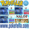 Kalos starters chespin fennekin froakie shiny hidden ability egg moves new nintendo 3ds 2ds XL pokemon ultra sun moon x y alpha sapphire omega ruby