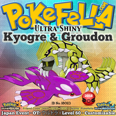 Event Pokémon giveaways for Pokemon Sun Moon ORAS XY