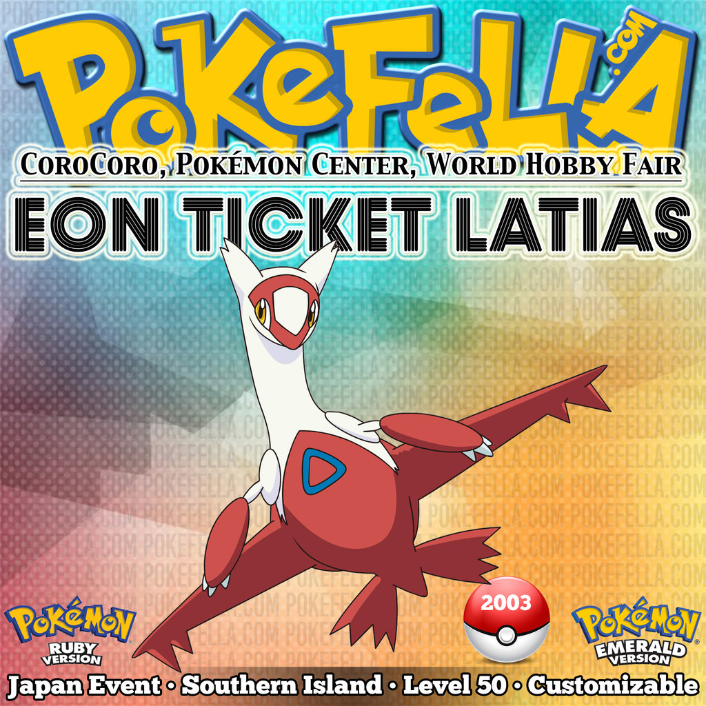 Beaches] How to get latias in emerald southern island