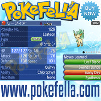 Pokémon Center Eeveelutions • OT: ポケセン • ID No. 170513 • Vaporeon, Jolteon, Flareon, Espeon, Umbreon, Leafeon, Glaceon, Sylveon • Japan 2017 Event