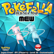 PokéFesta Mew • Old Sea Map - Faraway Island • Japan 2005 Event