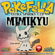 Ultra Spooky Cup Shiny Mimikyu • OT: PGL • ID No. 181026 • Japan 2018 Event
