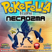 Eclipse Shiny Necrozma • OT: 이클립스 • ID No. 191115 • Korea 2019 Event