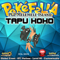 PGL Ultra Final Online Competition Shiny Tapu Koko • OT: Melemele, Mele-Mele, Mele Mele, メレメレ, 멜레멜레 • ID No. 191004 • Worldwide 2019 Event