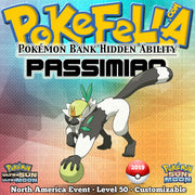 Pokémon Bank Hidden Ability Passimian • Worldwide 2019 Event