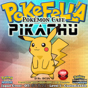 Pokémon Cafe Pikachu • OT: ポケカフェ • ID No. 180314 • Pokémon Center - Japan 2018 Event