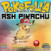 Ash Pikachu • Kalos Cap/Hat • OT: サトシ • ID No. 131017 • Pokemon I Choose You - Tie In-Distribution Japan 2017 Event