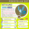 Articuno • Competitive • 6IVs • Level 100 • Online Battle-Ready