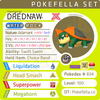 ultra square shiny Gigantamax Drednaw • Competitive • 6IVs • Level 100 • Online Battle-ready