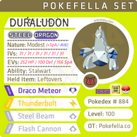 ultra square shiny Duraludon • Competitive • 6IVs • Level 100 • Online Battle-ready