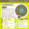 ultra square shiny Garbodor • Competitive • 6IVs • Level 100 • Online Battle-ready