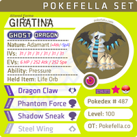 ultra square shiny Giratina (Altered Forme) • Competitive • 6IVs • Level 100 • Online Battle-Ready