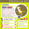 Latias • Competitive • 6IVs • Level 100 • Online Battle-Ready