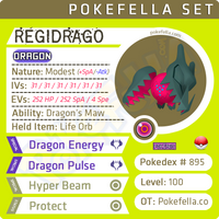 Regidrago • Competitive • 6IVs • Level 100 • Online Battle-Ready