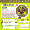 ultra star square shiny Gigantamax Rillaboom • Competitive • 6IVs • Level 100 • Online Battle-ready