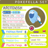 Arctovish • Competitive • 6IVs • Level 100 • Online Battle-ready