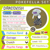ultra shiny Dracovish • Competitive • 6IVs • Level 100 • Online Battle-ready